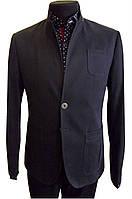 Мужской пиджак черный №56/1 - CJ 012/2