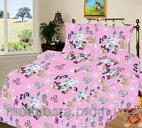 Детский комплект постельного белья в кроватку My little pony