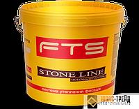 TM FTS STONE LINE DECOR - мозаичная штукатурка (ТМ ФТС Стоне Лайн Декор) 80 ЦВЕТОВ,25 кг.