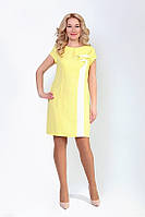 Полуприлегающее женское платье