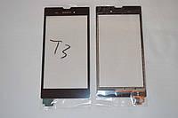 Оригинальный тачскрин сенсор (сенсорное стекло) Sony Xperia T3 D5102 D5103 D5106 M50w черный Synaptics + СКОТЧ