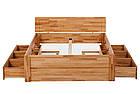 Кровать из массива дерева 014, фото 5