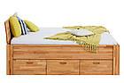 Кровать из массива дерева 014, фото 3