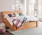 Кровать из массива дерева 014, фото 8