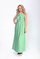 Стильное платье нежного цвета