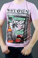 Летняя мужская футболка из хлопка