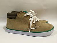 Замшевые ботиночки RUUM - 31,5 р