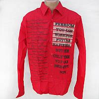 Рубашка мужская DELLBES красная