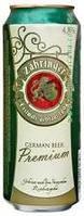 Пиво Zabringer premium ж/б 0,500 мл