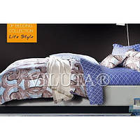 Комплект постельного белья сатин люкс евроразмер 846, фото 1