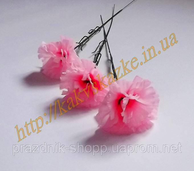 Гвоздика на ножке, розовая.