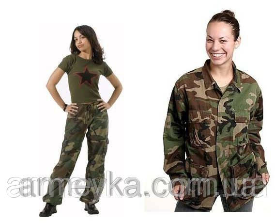 Комплект формы BDU Woodland  WOMAN (USA, оригинал).