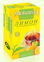 """Чай """"Alokozay"""" черный с лимоном 25 пак."""