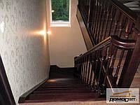Лестница дубовая