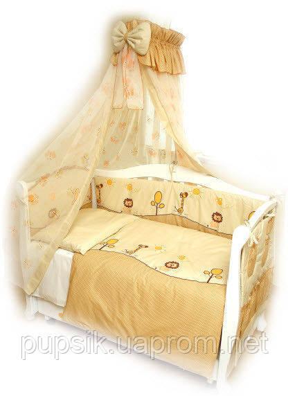 Постельный комплект для новорожденного Twins Comfort Африка (8 предметов)