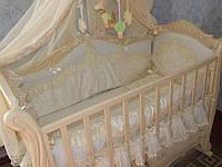 Детское постельное белье в кроватку, авторский дизайн.