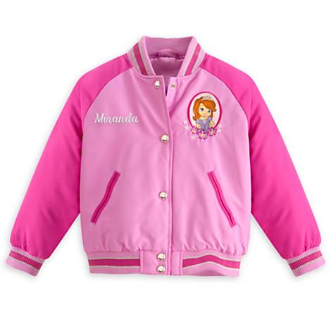 Куртка ветровка 5/6 лет Принцесса София для девочки Дисней / Jacket for Girls Sofia Disney
