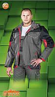 Рабочий комплект BOSTON: полукомбинезон и куртка, фото 1