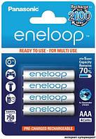 Аккумулятор PANASONIC Eneloop AAA/R03 min 750mAh