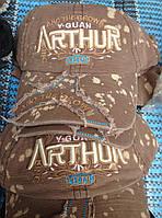 """Бейсболка """"ARTHUR"""" (св.коричневый)"""