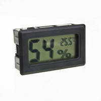 Термометр с гигрометром - ЖК дисплей, фото 1