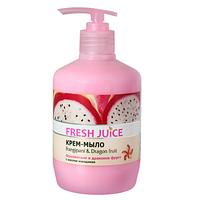 Жидкое крем мыло с дозатором Fresh Juice