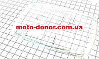 Стекло-рассеиватель фары квадратной для мопеда DELTA
