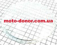 Стекло-рассеиватель фары круглой 140мм для мопеда DELTA
