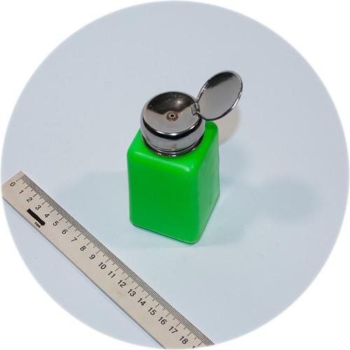 металлическая помпа на дозаторе