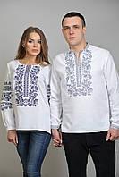 Оригинальные вышитые рубашки для пары, фото 1