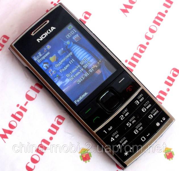 Копия Nokia X2-00, dual sim  x2-02