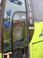 Установка автобусных стеклопакетов
