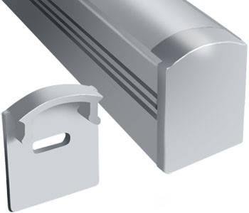 Торцевая заглушка ЗПО 17*16 мм с отверстием Код.56667, фото 2