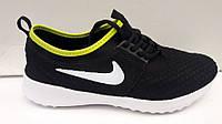 Кроссовки мужские Nike Roshe Run черные NI0118