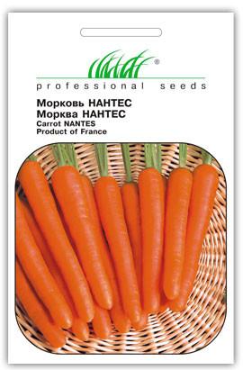 Насіння моркви Нантес, 3 г