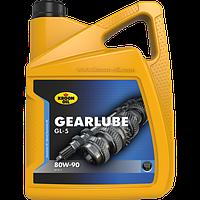 Трансмиссионное масло KROON OIL Gearlube GL-5 80W-90 минеральное для  автомобиля 5л. KL 01325