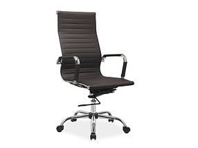 Кресло Офисное Q-040 Коричневое (Signal ТМ)