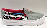 Слипоны женские Vans текстиль KF0295