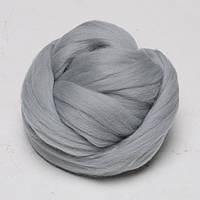 Толстая Пряжа 100% шерсть мериноса Серебро