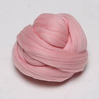 Толстая Пряжа 100% шерсть мериноса Розовый
