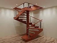 Винтовая лестница- деревянные лестницы