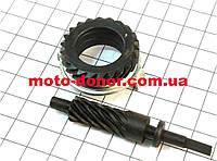Шестерня привода спидометра (комплект-2шт) для мопеда DELTA
