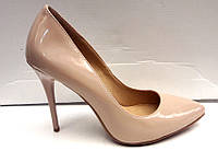 Туфли женские лаковые на шпильке разные цвета KF0298