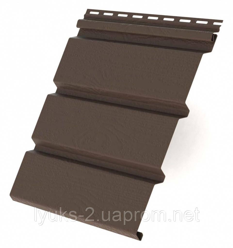 Софит (Панель) коричневый Rainway
