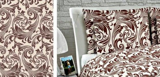 Ткань бязь набивная Cotton 3801, 100% хлопок