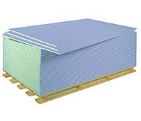 Гипсокартон влагостойкий 12,5х1200х2500 (3,00кв.м), лист