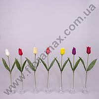 Цветок Тюльпан 23471 кремовый