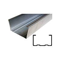 Профиль для монтажа гипсокартона CW-50 длина 3,00м , штука