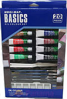 Краски масло Basics WBDО1220, 12цвх12мл
