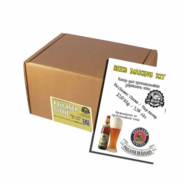 Набор для приготовления клона пшеничного пива Paulaner Hefe-Weissbier на 20л